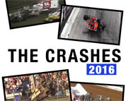 The Crashes 2016 DVD