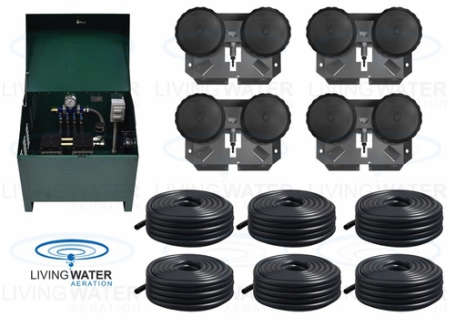 AirPro Deluxe Pond Aerator Kit - up to 4 Acre Ponds