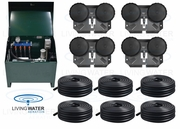 AirPro Deluxe Pond Aerator Kit - up to 6 Acre Ponds