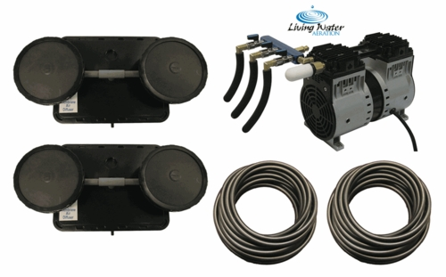 AirPro Rocking Piston Pond Aerator Kit - up to 2 Acres