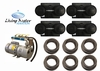 AirPro Rotary Vane Compressor Pond Aerator Kit - up to 6 Acres