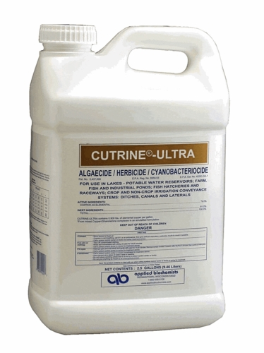 Cutrine Ultra Liquid - 2.5 gallons