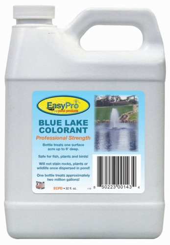 Easypro Concentrated Pond Dye - 1 quart Blue