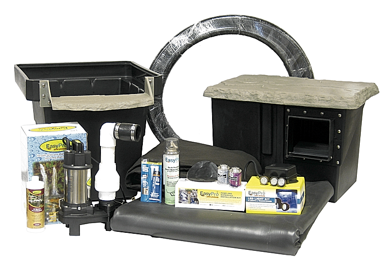 Pro Series Small Pond Kit Complete For 11 39 X 11 39 Pond