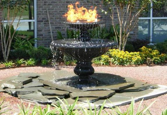 Fire Fountain HB-12'' Manifold