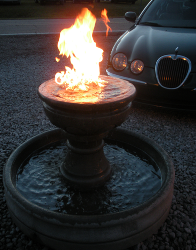 Fire Fountain  XR-7 Manifold