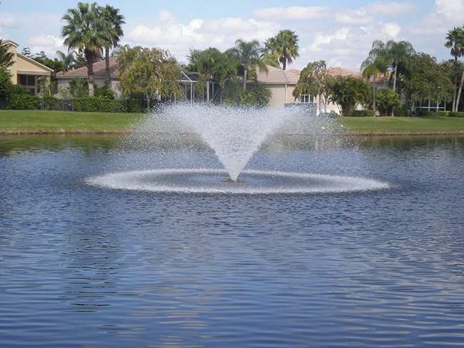 Kasco 5 hp 5 1vfx fountain for Pond fountains