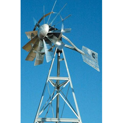 Outdoor Water Solutions 12' Windmill Pond Aerator Kit