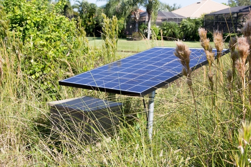 Solaer Solar Powered Pond Aerator - 3 acres