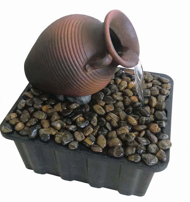 Tipped Vase Fountain