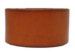 """1 1/2"""" Wide Leather Wristband"""