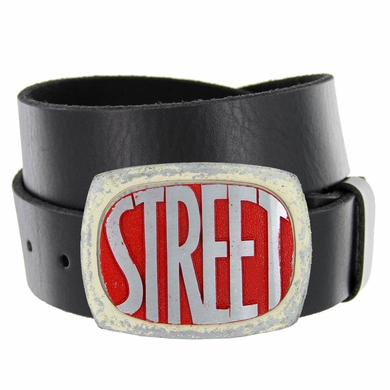 100551 Street Belt Buckle Casual Jean Leather Belt