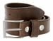 Made In Italy Men's Full Grain Leather Casual Jean Belt - Brown1