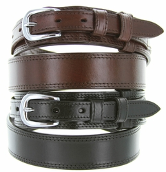 10574 Men's Leather Ranger Belt - Black