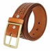 "10856 Reno Heavy Duty Basketweave Men's Work Uniform Gun Belt 1 3/4"" Wide-Tan"