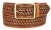 "10856 Reno Heavy Duty Basketweave Men's Work Uniform Gun Belt 1 3/4"" Wide-Tan1"