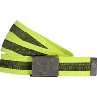 11198247 Nike Golf Sport Men's Rubber Inlay Reversible Web Belt - Venom Green