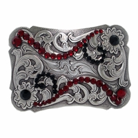 1202076529 Swarovski Rhinestone Crystal Women's Belt Buckle