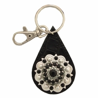 146280026 Swarovski Rhinestone Crystal Berry Concho Key Ring
