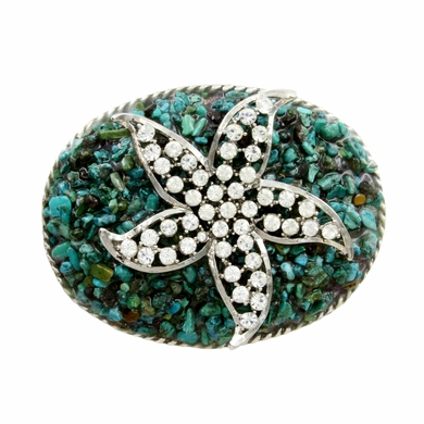 154050214 Rhinestone Belt Buckle