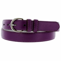 "188 Purple Women's Dress Belt 1-1/8"" Wide"
