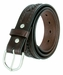 "2285 Western Scorpion X Hand Woven Genuine Leather Belt 1-1/2"" Wide-Brown1"