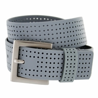 3301500 PGA TOUR Silicone Perforated Golf Belt - Gray