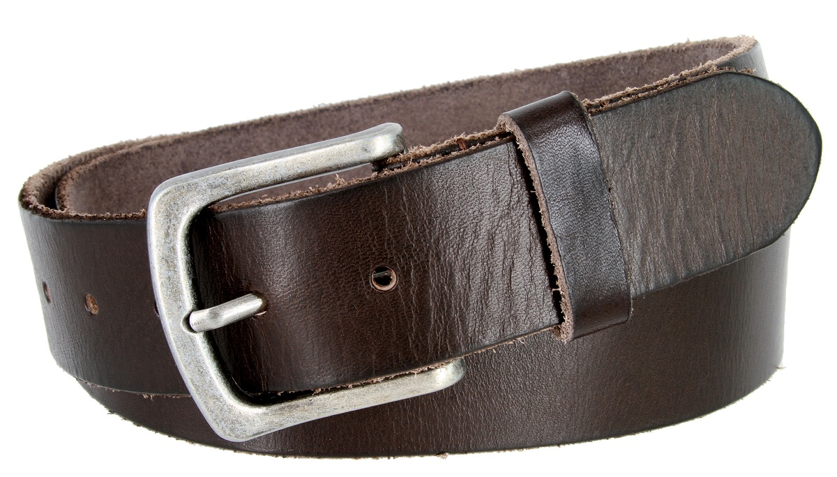 """Belt for Buckles 100/% Top Grain One Piece Leather,up to Size 62 1-1//2/"""" Wide"""