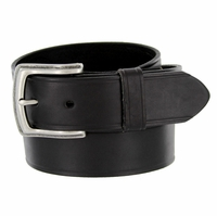 "39261304 Men's Genuine Leather Uniform Work Belt 1-1/2"" (38mm) Wide - Black"