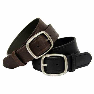 "Casual Leather Belt 1-1/2"" Wide"