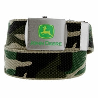 "4308300 John Deere boy's Fabric Web Canvas Belt 1-1/4"" Wide"