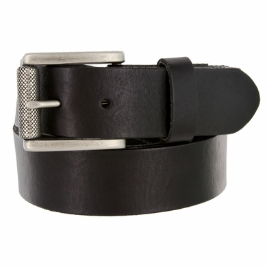 "431601 Men's One Piece Full Leather Casual Jean Belt 1-1/2"" wide"