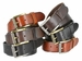 "P4316 Men's One Piece Full Leather Casual Jean Belt 1-1/2"" Wide"
