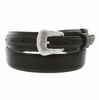 Oil Tanned Leather Ranger Belt - Black