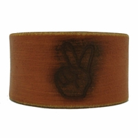 98B Genuine Leather Wristband