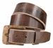"A0023 Vintage Buckle and Genuine Full Grain Leather Belt 1 1/2"" Wide4"