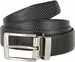 "A530-NP-160503 Men's Reversible Genuine Leather Dress Casual Belt 1-3/8"" (35mm) wide - Black/Brown2"