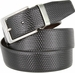"A530-NP-160503 Men's Reversible Genuine Leather Dress Casual Belt 1-3/8"" (35mm) wide - Black/Brown1"