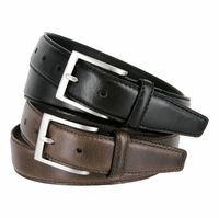 """Acre Oil-Tanned Genuine Leather Dress Belt 1-3/8"""" Wide"""