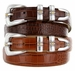 Aiden Men's Leather Designer Belt