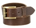 "Alex Jean Full Grain Leather Belt 1-1/2"" Wide Hand Made In USA1"