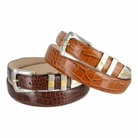Alexander Men's Designer Italian Leather Dress Belt