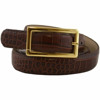 170625456 Genuine Leather Belt 1 inch Wide