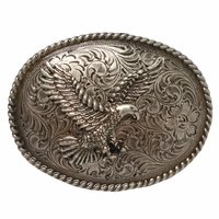 American Bald Eagle Belt Buckle H8170 ANR