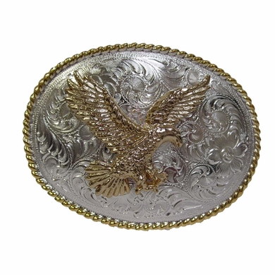 American Eagle Western Design Trophy Belt Buckle
