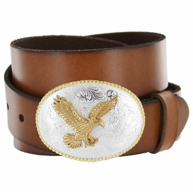 American Eagle Western Full Grain Leather Belt