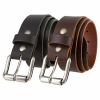 Casual Leather Jeans Belts For Men