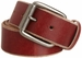 "Bill Adler 23805 1-1/2"" (38mm) Wide Genuine Leather Belt with Roller Buckle2"