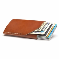 Bison Made No. 2 Wallet - Cognac