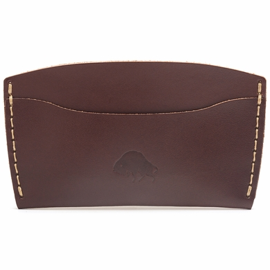 Bison Made No. 3 Wallet - Burgundy